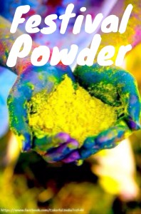 festival powder paint